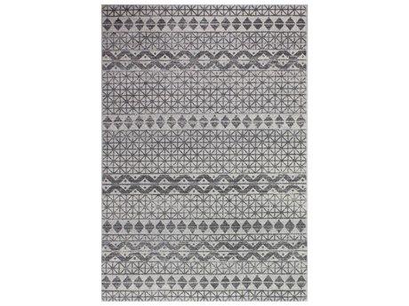 Bashian Rugs Everek Ivory & Grey Rectangular Area Rug