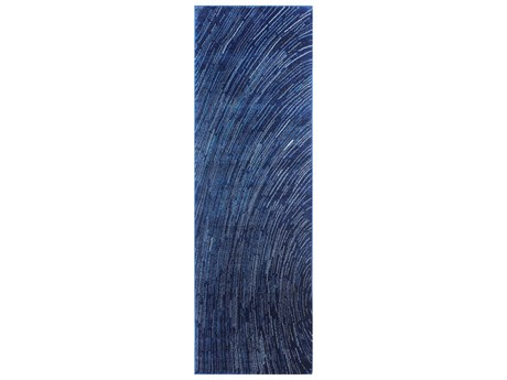 Bashian Rugs Everek Dark Blue 2'6'' x 8' Runner Rug