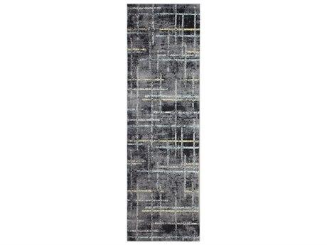Bashian Rugs Everek Grey 2'6'' x 8' Runner Rug