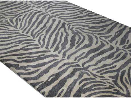 Bashian Rugs Greenwich Rectangular Grey Area Rug BSHR129GYHG241
