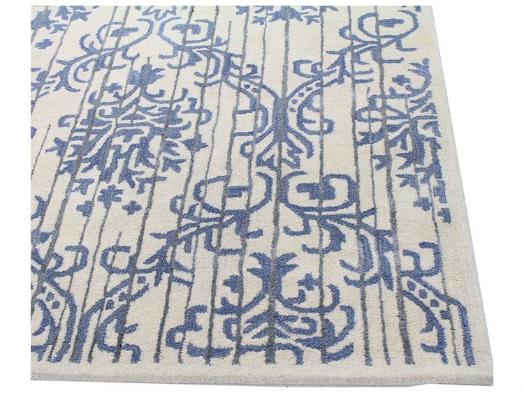 Bashian Rugs Greenwich Rectangular Ivory Area Rug