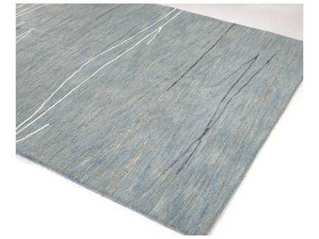 Bashian Rugs Greenwich Rectangular Light Blue Area Rug BSHR129LBLHG238