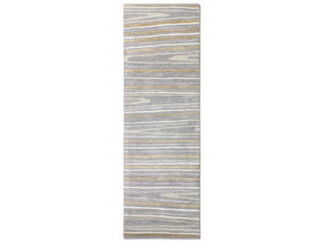 Bashian Rugs Greenwich Grey 2'6'' x 8' Runner Rug