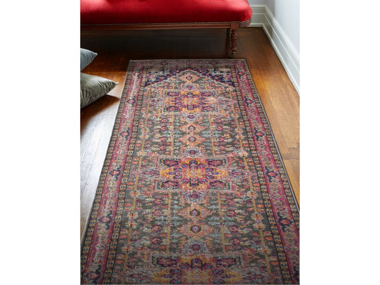 Runner Rug H114 Gy Z034 Run