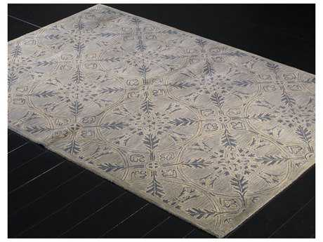 Bashian Rugs Rajput Rectangular Light Blue Area Rug BSHR122LBLRJ131