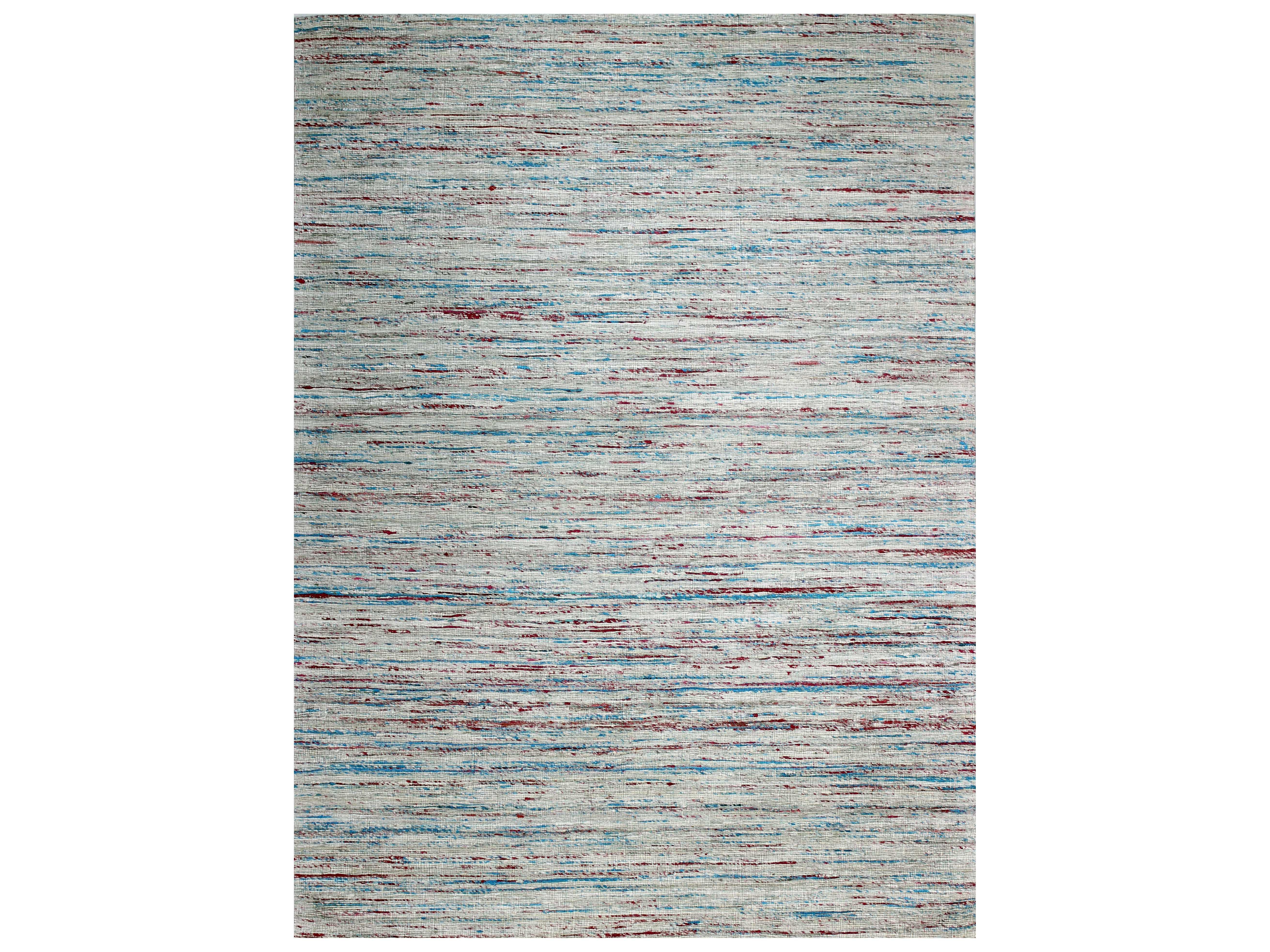 Bashian Rugs Spectrum Rectangular Ivory Amp Blue Area Rug