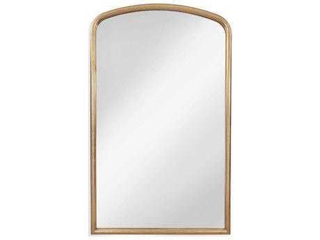 Bassett Mirror Antique Gold Leaf Floor BAM4218