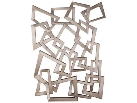 Bassett Mirror 3 Dimensional Metal Wall Art BA7500666