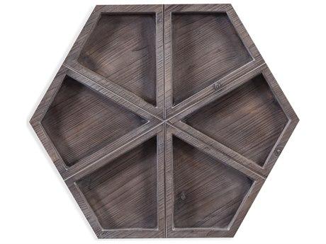 Bassett Mirror 3 Dimensional Wood Wall Art BA7500686
