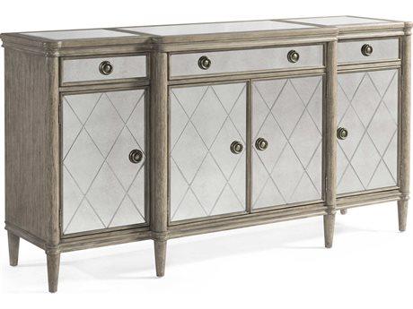 Bassett Mirror Abrielle White Peony Tea Buffet BA2485DR576