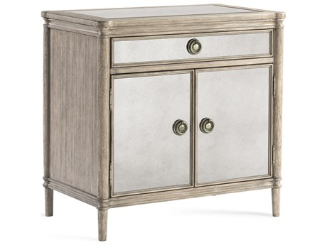 Bassett Mirror Abrielle White Peony Tea Accent Chest BA2485LR225