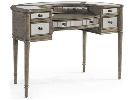 Bassett Mirror Abrielle White Peony Tea Secretary Desk BA2485LR579