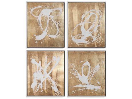 Bassett Mirror Abstract Canvas Wall Art BA7300434