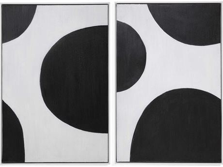 Bassett Mirror Abstract Canvas Wall Art BA7300440