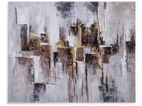 Bassett Mirror Abstract Canvas Wall Art BA7300441