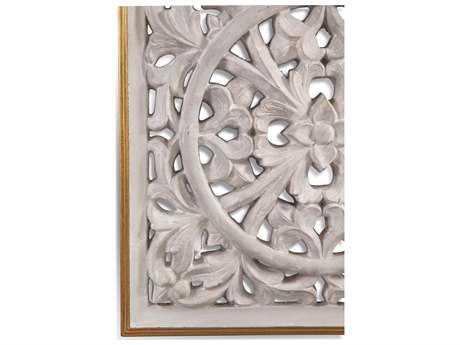 Bassett Mirror Belgian Luxe Jasper Wall Medallion Painting BA7300279EC