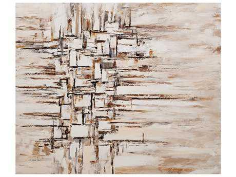 Bassett Mirror Belgian Luxe Neutral Lines Painting BA7300203EC