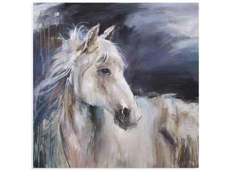 Bassett Mirror Belgian Luxe Mystical Horse II Painting BA7300211EC