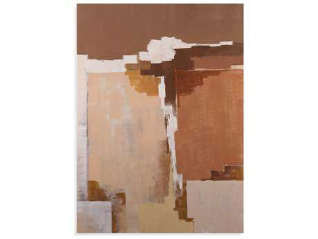 Bassett Mirror Belgian Luxe Desert Abstract Painting
