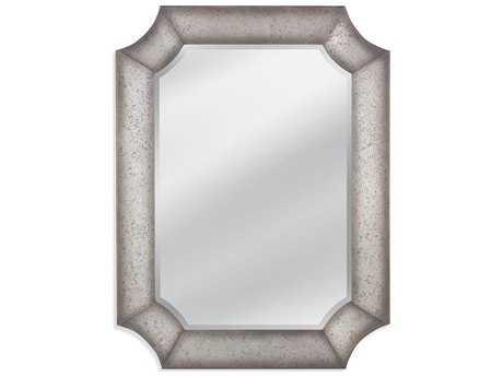 Bassett Mirror Belgian Luxe 36 x 48 McKinnon Wall Mirror BAM3712BEC