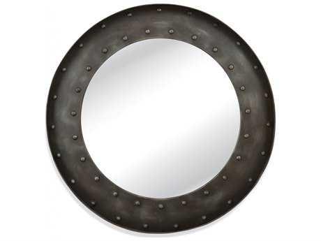 Bassett Mirror Belgian Luxe 41'' Round Kirk Wall Mirror BAM3718EC