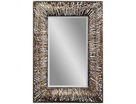 Bassett Mirror Belgian Modern 34 x 47 Copper Zola Wall Mirror BAM3334BEC