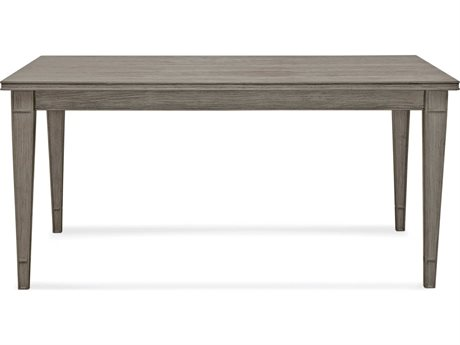 Bassett Mirror Bellamy Ash Grey 60'' Wide Rectangular Dining Table BA1153DR600