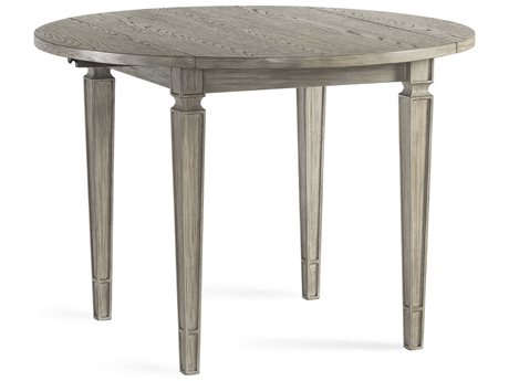 Bassett Mirror Bellamy Ash Grey 42'' Wide Round Dining Table BA1153DR706