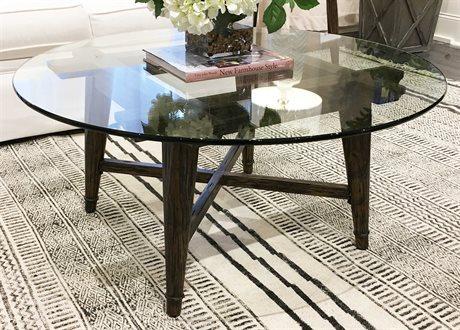 Bassett Mirror Bennis Factory Pine 40'' Wide Round Coffee Table BA3376LR120