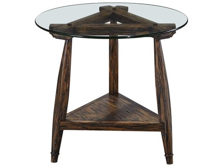 Bassett Mirror Bennis Factory Pine 26'' Wide Round End Table BA3376LR220