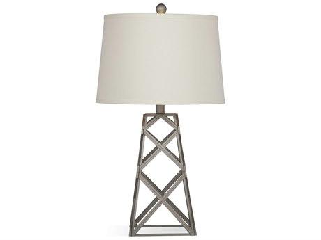 Bassett Mirror Brady Silver Buffet Lamp BAL3241TEC
