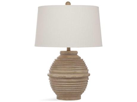 Bassett Mirror Bricolage Beige / White Wash Buffet Lamp BAL3460T