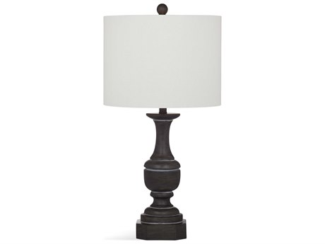 Bassett Mirror Bricolage Dark Grey Wash Buffet Lamp BAL3525T