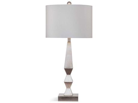 Bassett Mirror Bricolage Silver Leaf Buffet Lamp BAL3563T