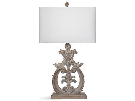 Bassett Mirror Bricolage Beige / White Wash Buffet Lamp BAL3705T