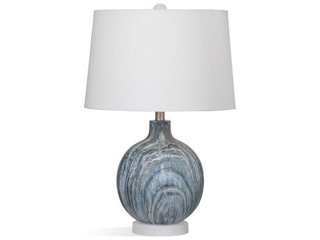 Bassett Mirror Bricolage Blue / Grey Table Lamp BAL3647T