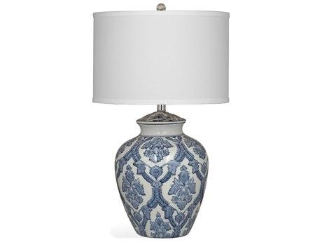 Bassett Mirror Camden Blue / White Buffet Lamp BAL3215TEC