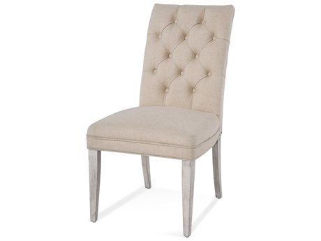 Bassett Mirror Camryn Weathered Whet Side Dining Chair BA1152DR803