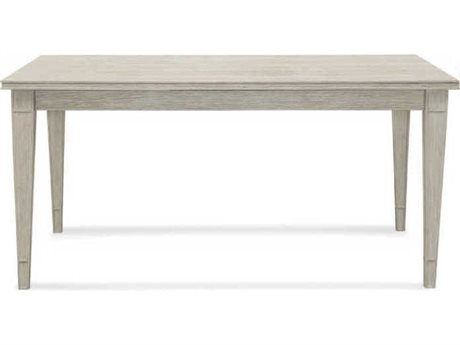 Bassett Mirror Camryn Rustic White 60'' Wide Rectangular Dining Table BA1152DR600