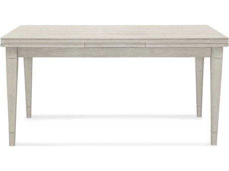 Bassett Mirror Camryn Weathered White 60'' x 36'' Rectangular Dining Table BA1152DR602EC