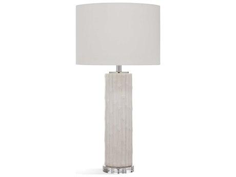 Bassett Mirror Ceramic White Buffet Lamp BAL3457T