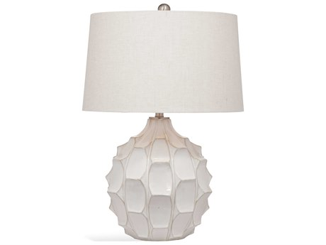 Bassett Mirror Ceramic Off White Buffet Lamp BAL3463T