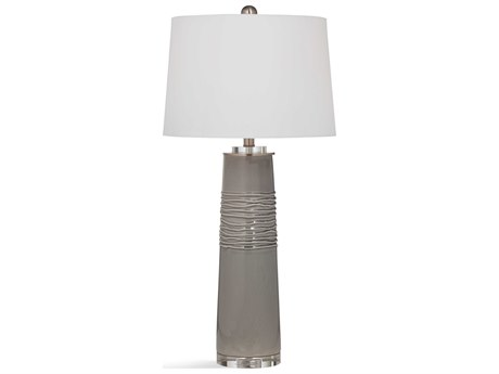 Bassett Mirror Ceramic Green / Gray Buffet Lamp BAL3464T