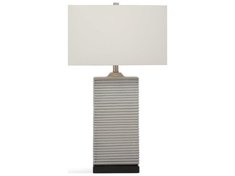 Bassett Mirror Ceramic Gray Buffet Lamp BAL3467T