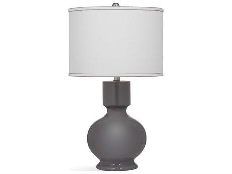 Bassett Mirror Ceramic Gray Buffet Lamp