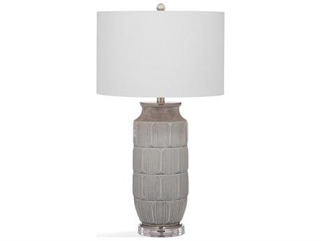 Bassett Mirror Ceramic Gray Buffet Lamp BAL3475T