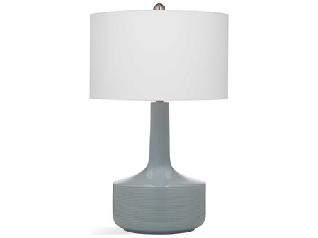 Bassett Mirror Ceramic Blue Buffet Lamp