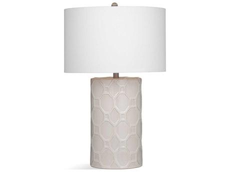 Bassett Mirror Ceramic Cream Buffet Lamp BAL3557T