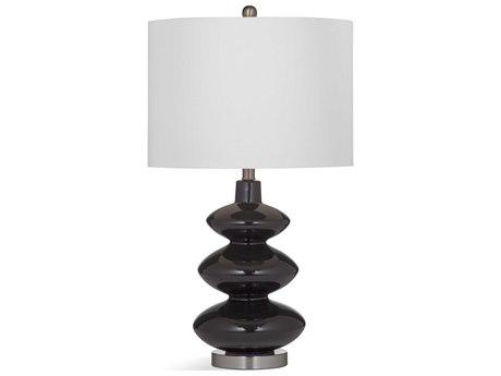 Bassett Mirror Ceramic Black Buffet Lamp BAL3562T