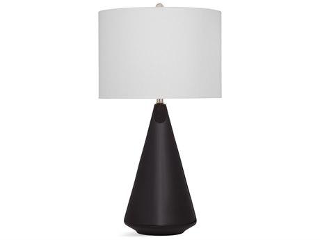 Bassett Mirror Ceramic Black Buffet Lamp BAL3579T
